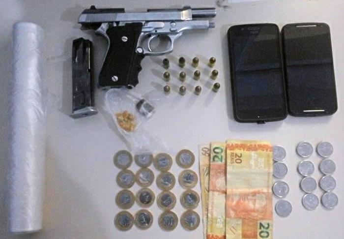 arma e drogas