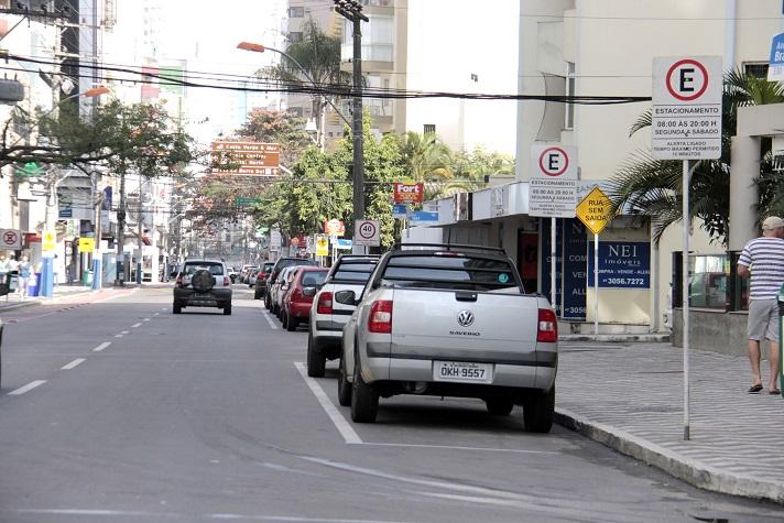 estacionamento rotativo foto Arthur Miranda comunicação