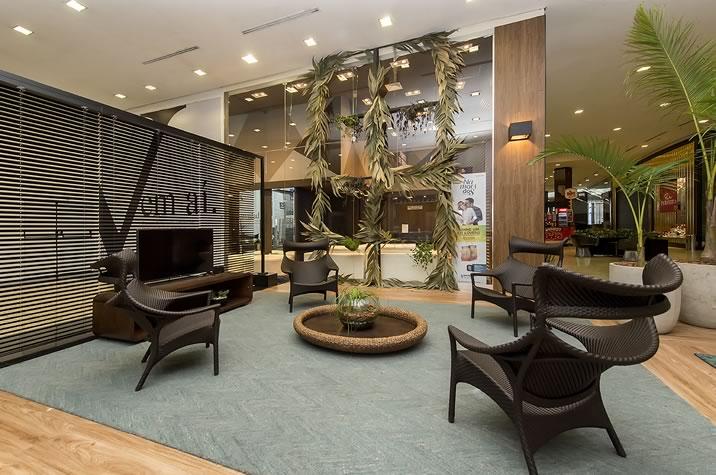 lounge especial da CASACOR Santa Catarina