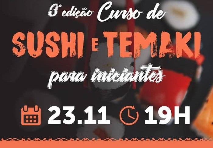 3ª Edição do Curso de Sushi e Temaki
