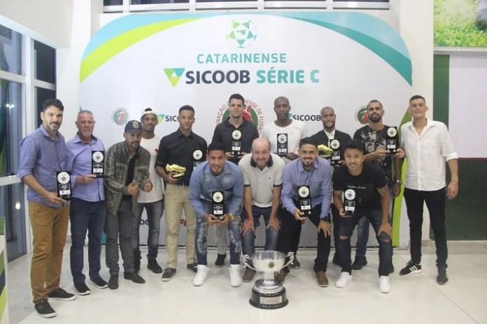 Atlético Itajaí tem seis jogadores na seleção da Série C