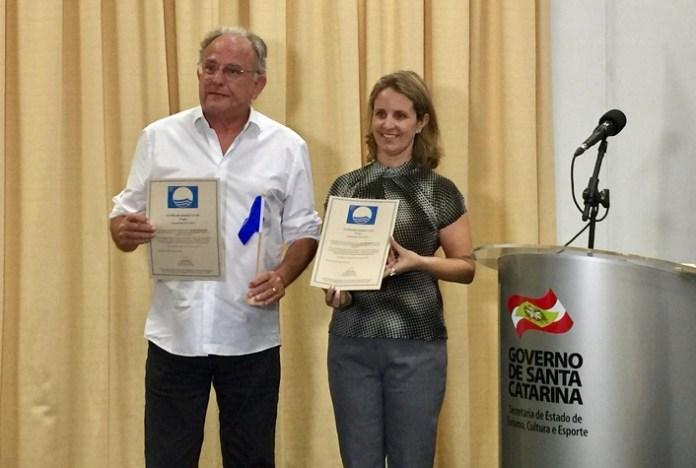 Balneário Camboriú recebe pela primeira vez a certificação Bandeira Azul
