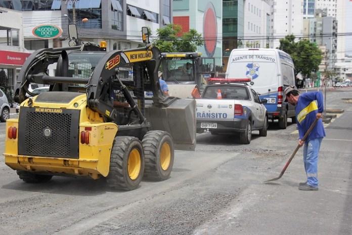 Trecho da 3ª Avenida começará a ser asfaltado