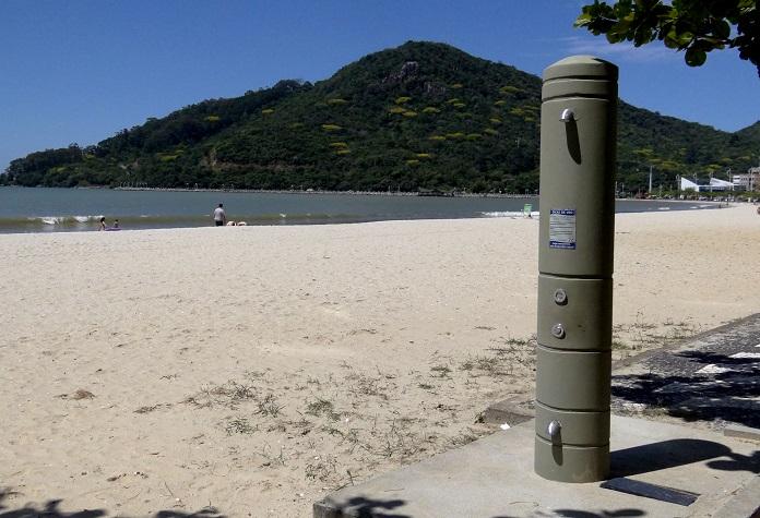 chuveiros da Praia Central