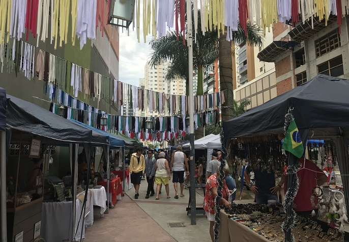 De quarta a sexta feira tem Feira de Verão na Praça da Cultura