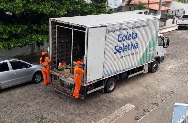 Coleta de recicláveis em Balneário Camboriú cresceu 164 em abril