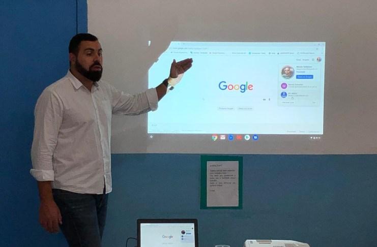 Professores recebem formação para Plataforma Google for Education