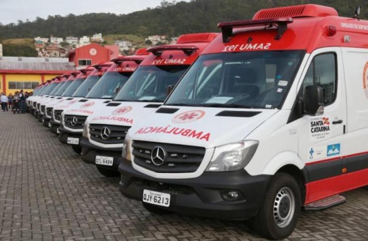 Itajaí recebe nova ambulância de suporte avançado para o Samu