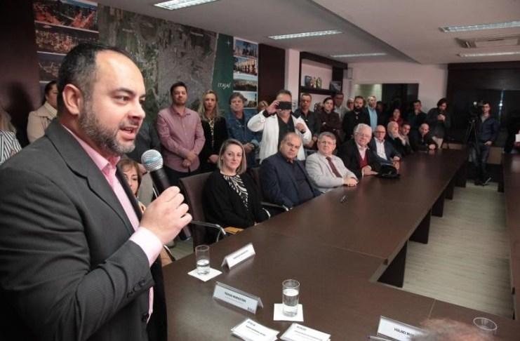 Thiago Morastoni secretário municipal de Desenvolvimento Econômico