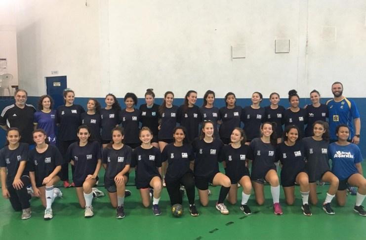 Equipe de BC compete na 2ª Etapa da Liga Santa Catarina de Handebol
