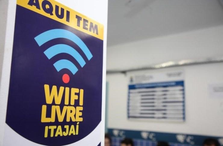wifi itajai