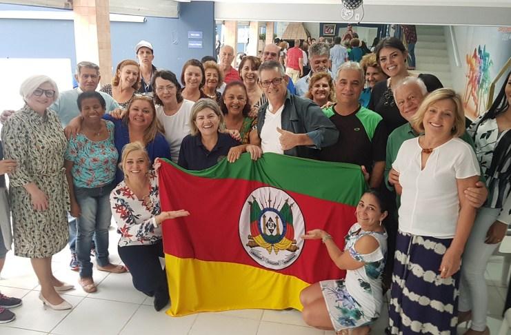 Desembargadora do Paraná visita Casa da Mulher
