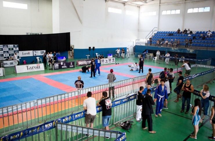 Comissão de Fiscalização do FUNDESPORTEBC visita evento de Jiu Jitsu