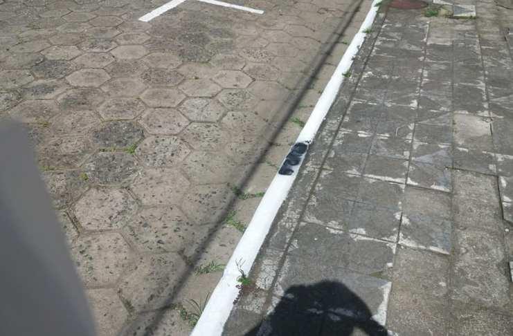 Número de vagas do estacionamento rotativo são alvo de vandalismo