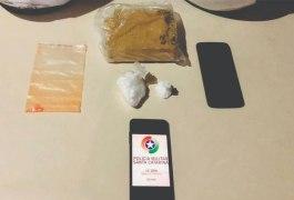 550 gramas de cocaina