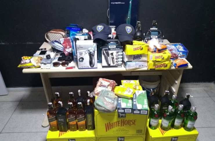 8 mil em produtos furtados