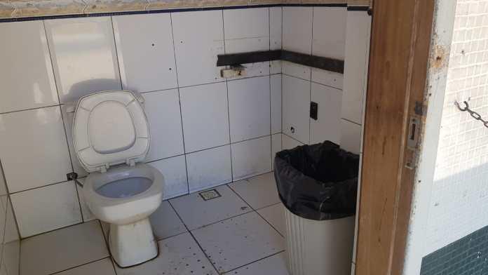 banheiro quiosque