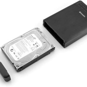 BOX HDD CON CODICE DI BLOCCO PASSWORD verbatim