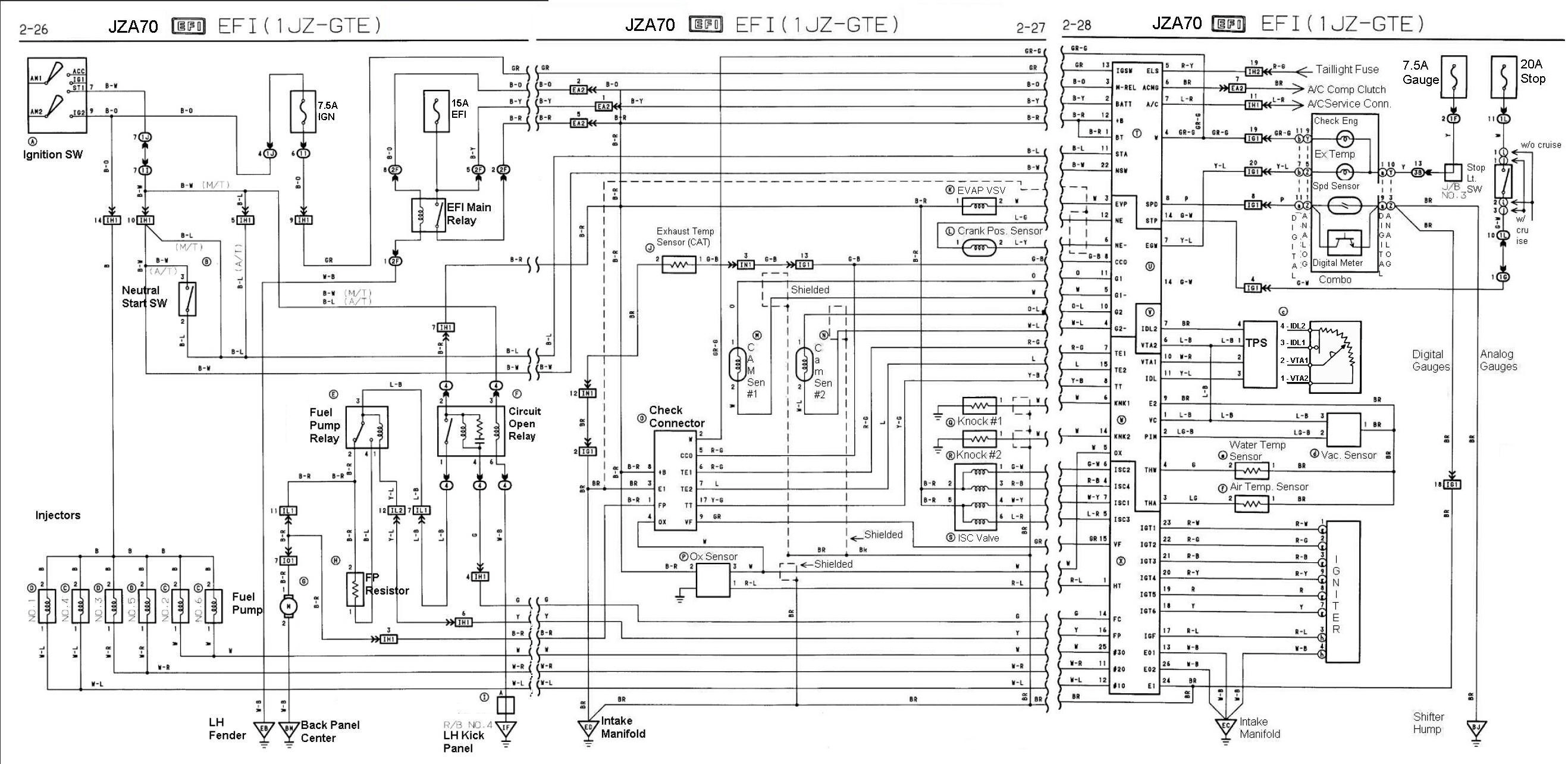 CE167 1jz Vvti Ecu Wiring Diagram | Wiring ResourcesWiring Resources