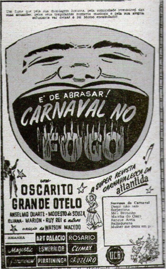 Poster do filme Carnaval no Fogo