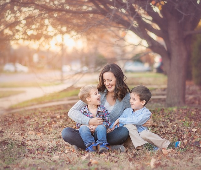 Mom With Her Two Boys Photo By Megan Deshazo