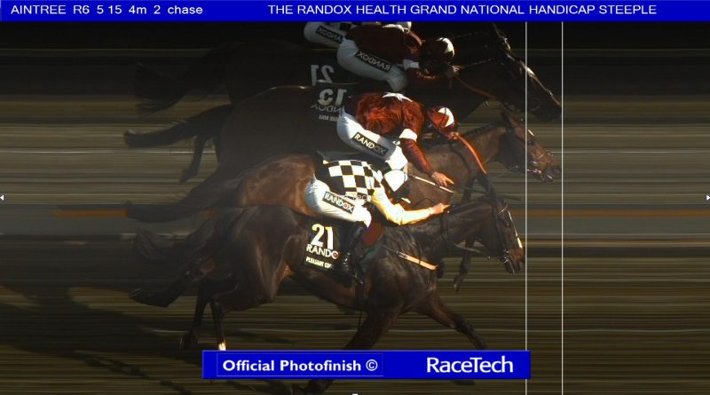Image result for grand national 2018 photo finish