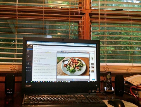Food Blogger Home Office