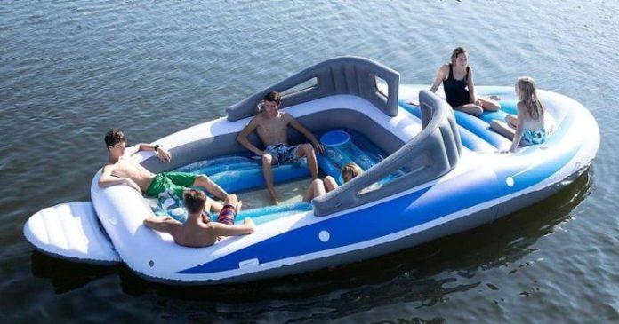 motoscafo gonfiabile - Bay Breeze Boat Party Island