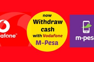 Don't Wait in Atm's Queue, withdraw cash Using Vodafone's M-Pesa