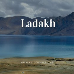 Ladakh, Summer Holiday, India