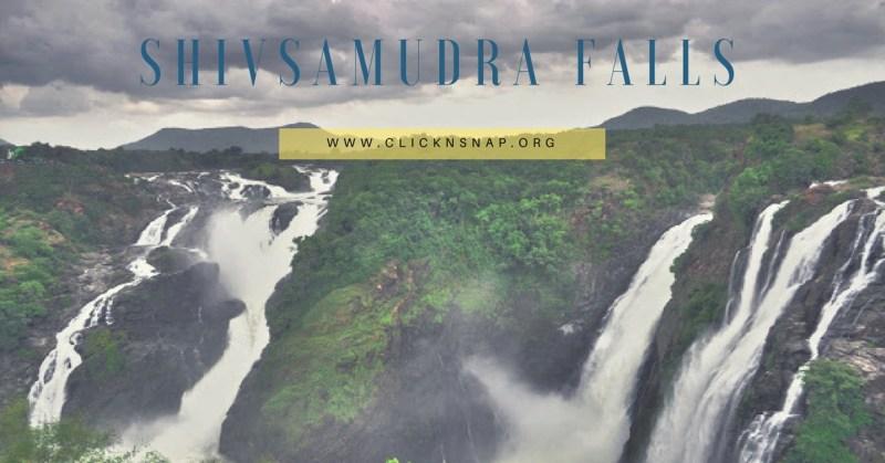 Shivanasamudra Falls, monsoon, bangalore, travel, Rain, Tour