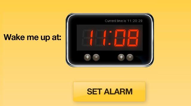 Online Offline Wake Up Alarm Clock
