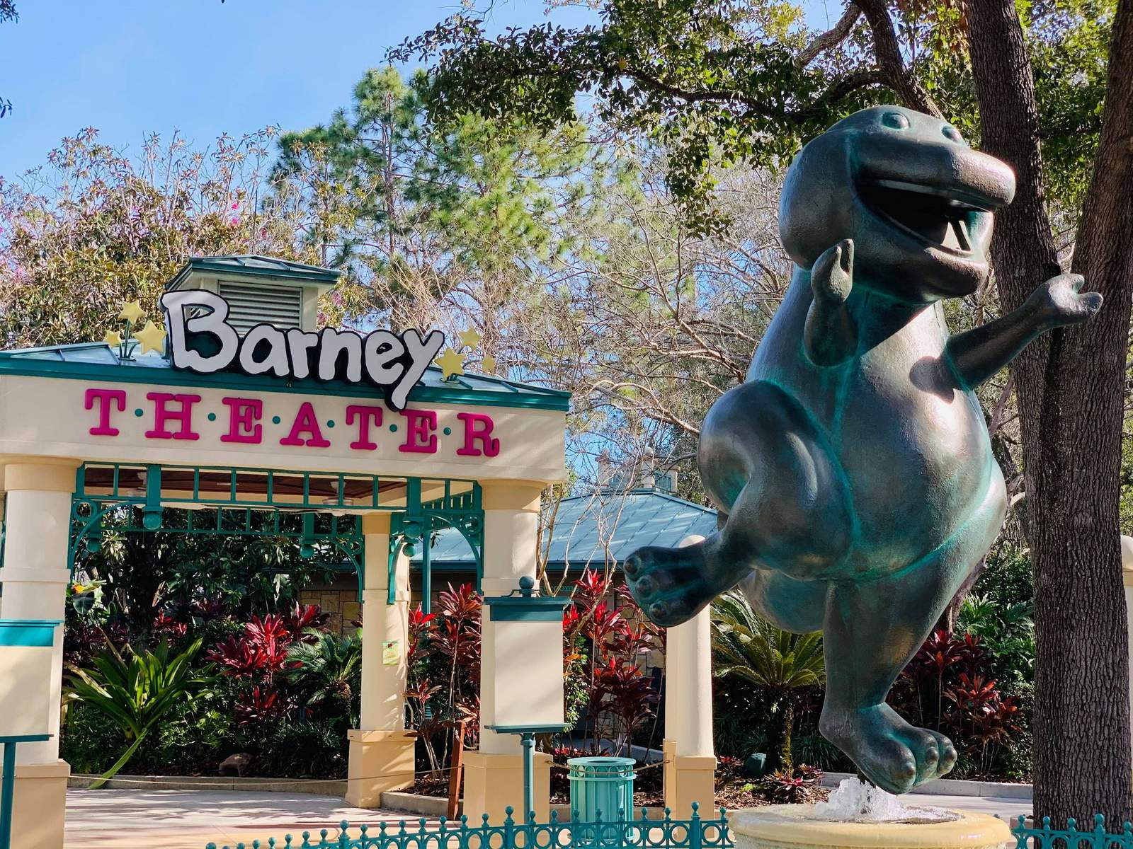 'A Day in the Park with Barney' goes extinct at Universal Orlando