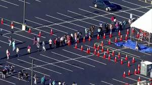 Second day of the Orlando FEMA vaccine website, higher turnout