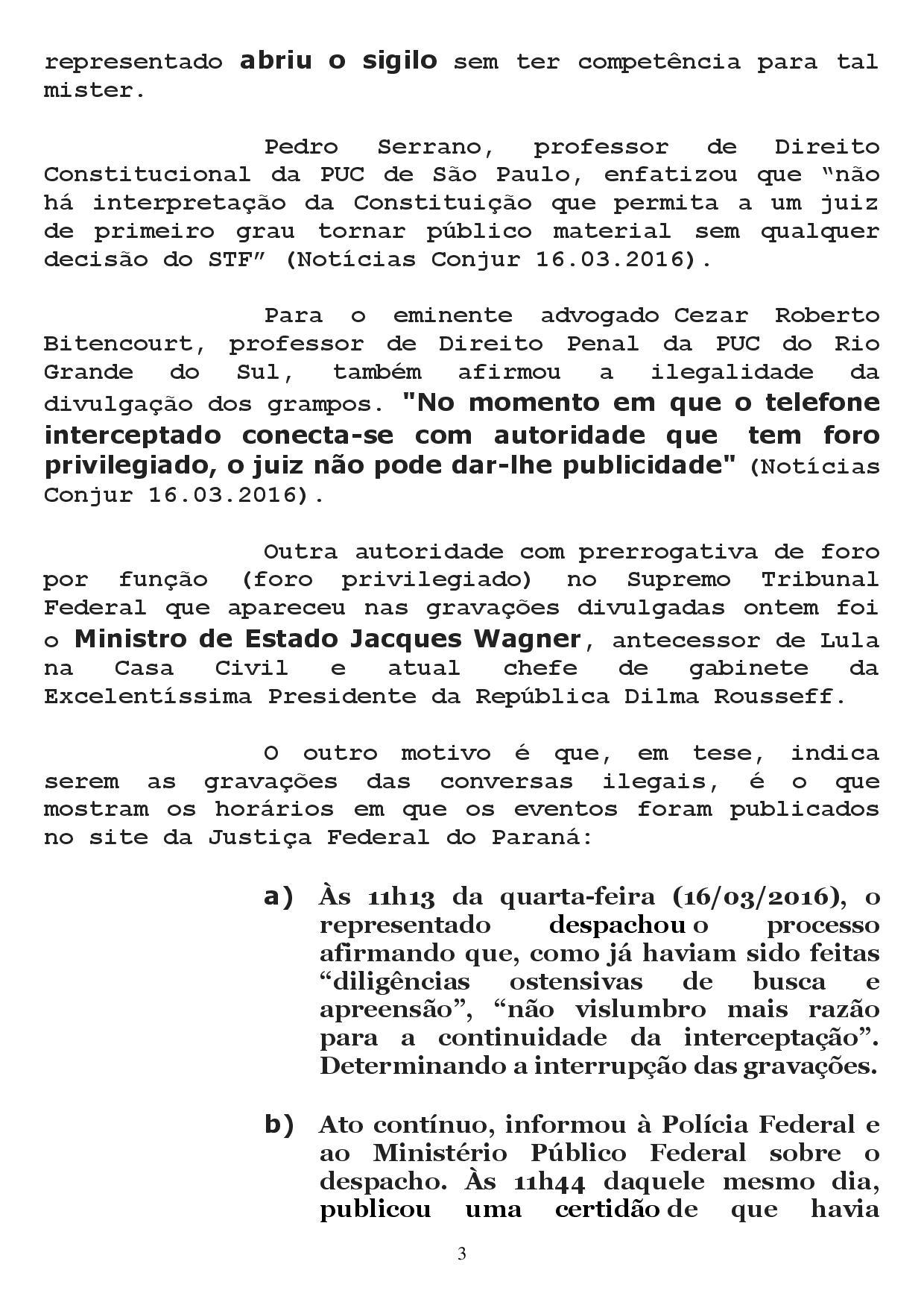 reclamacao correicional 1 page 003 - Sindicato dos Advogados da Paraíba pede no CNJ afastamento de Sergio Moro