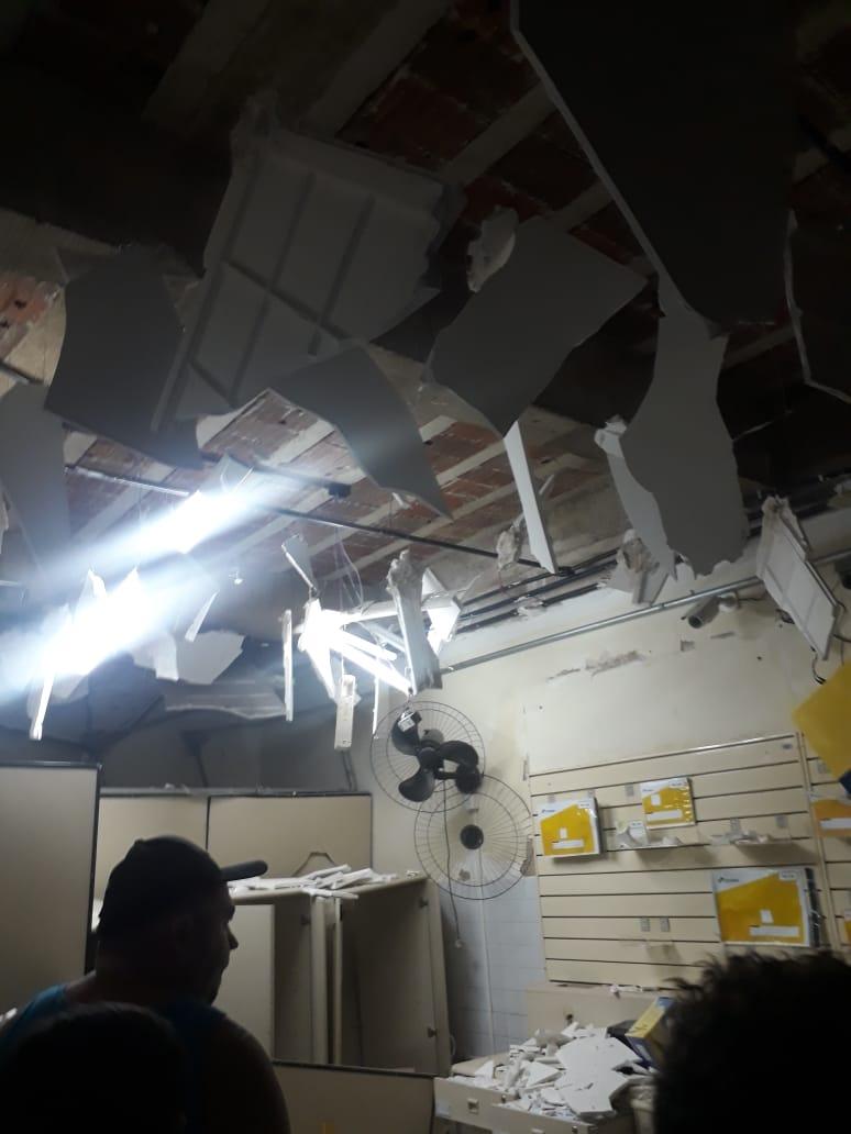 img 20181105 wa0001 - VEJA VÍDEO: quadrilha explode agência dos Correios da cidade de Coremas