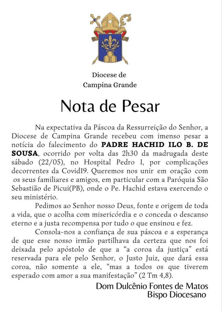 img 20210522 wa0004 734x1024 - LUTO: morre padre Hachid de Sousa, por complicações da covid-19