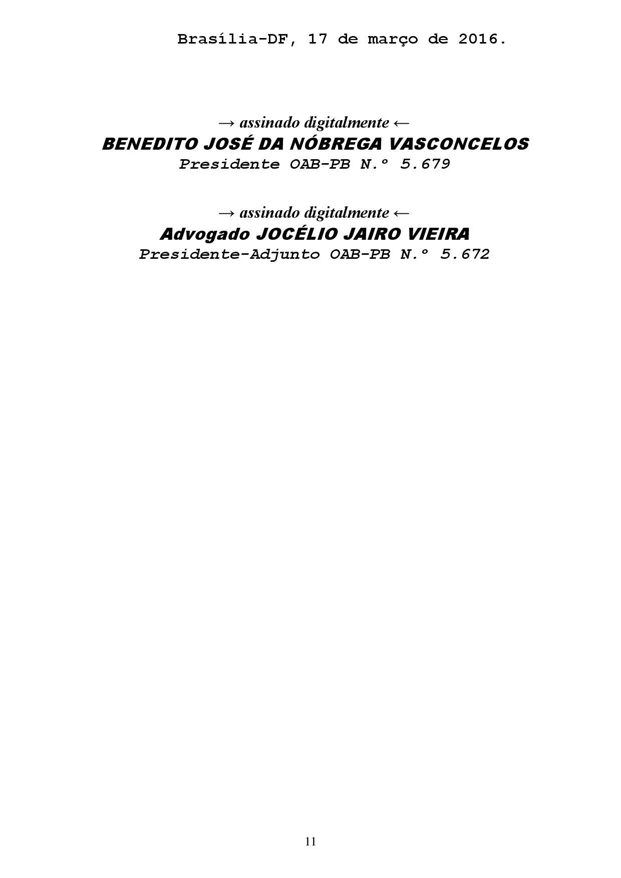reclamacao correicional 1 page 011 - Sindicato dos Advogados da Paraíba pede no CNJ afastamento de Sergio Moro