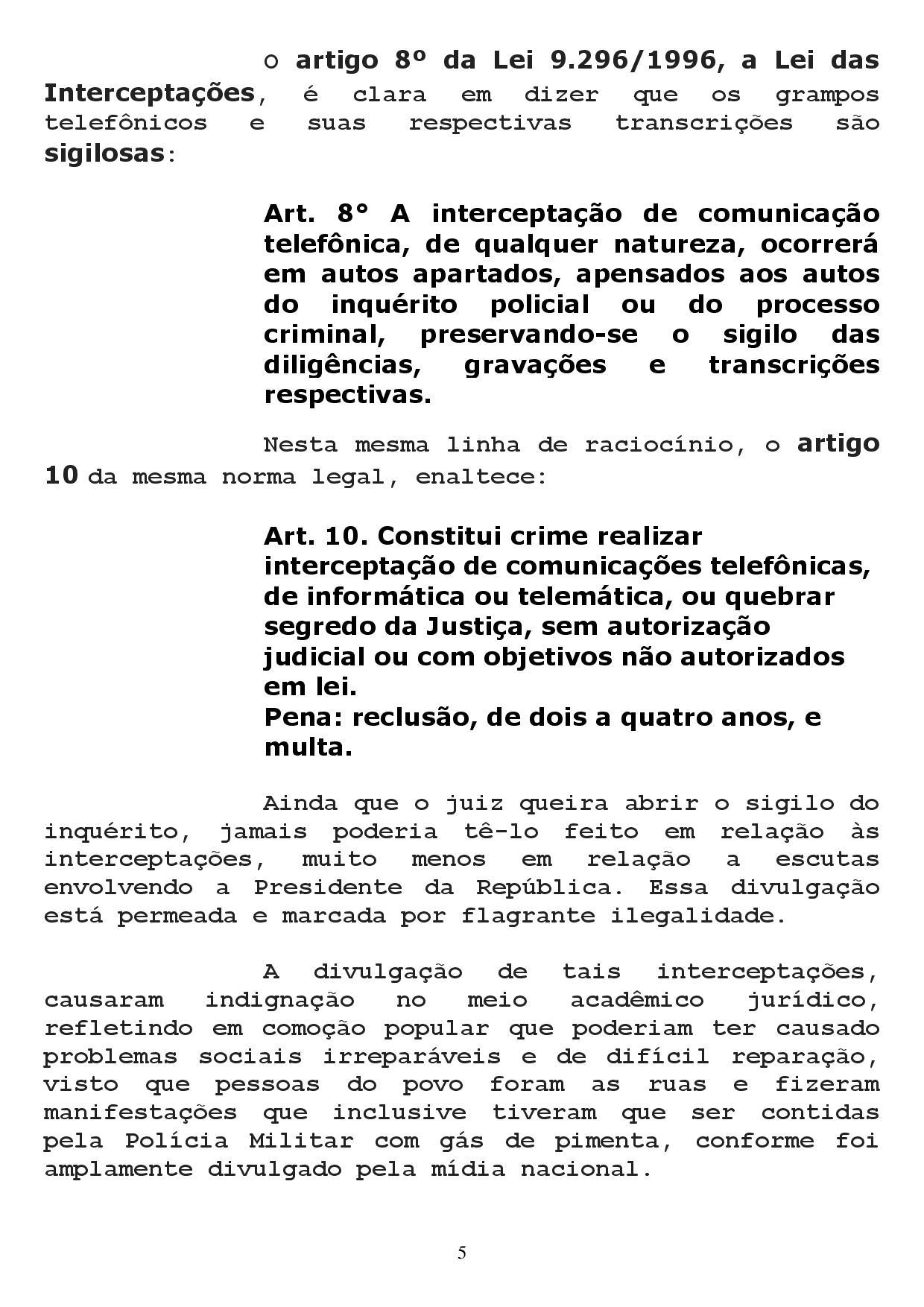 reclamacao correicional 1 page 005 - Sindicato dos Advogados da Paraíba pede no CNJ afastamento de Sergio Moro