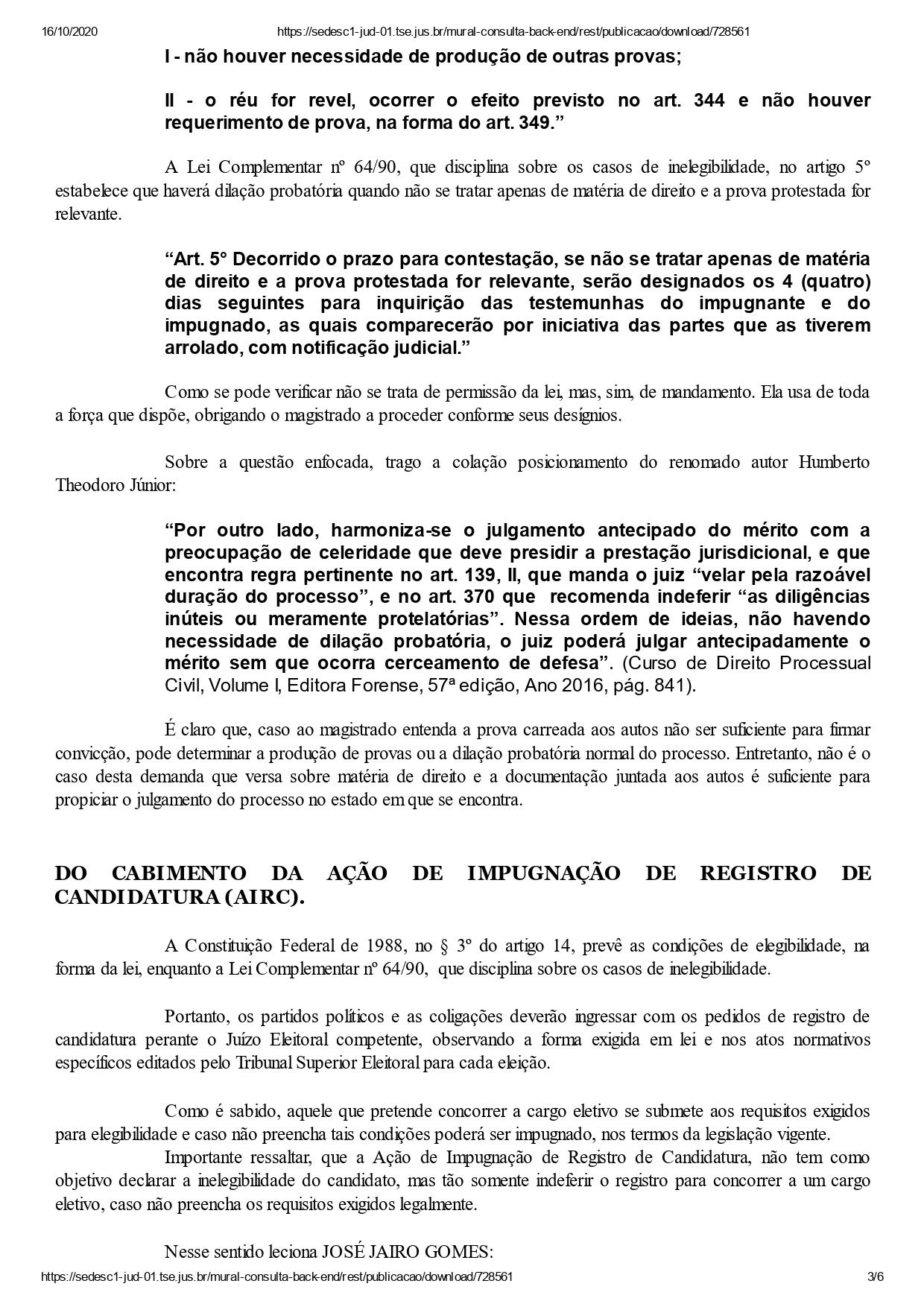 cachoeira dos indios mabel page 0003 - DECISÃO: Justiça Eleitoral indefere registros dos dois únicos candidatos a prefeito de Cachoeira dos Índios