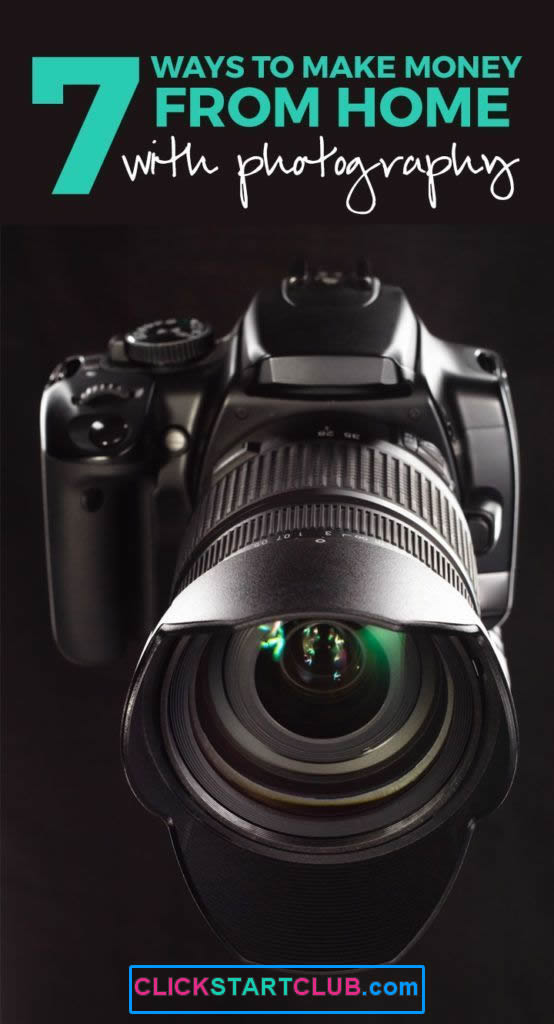 Make Money From Home With Photography