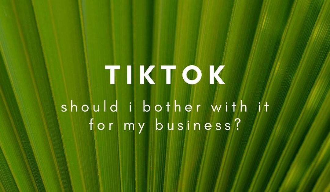 Should I put my business on TikTok?