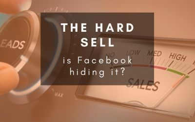 Does Facebook punish hard-selling ads and posts?