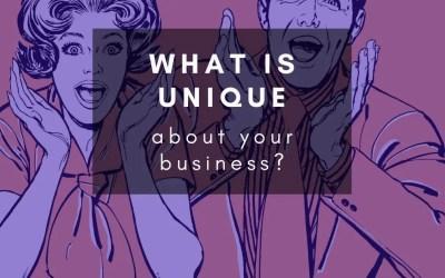 What makes a business unique?