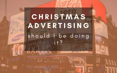 Should I continue to advertise over the Christmas period?