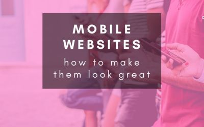 Making your site look great on phones