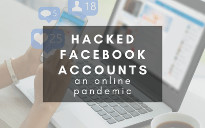 There's a wave of Facebook account hacking going on.