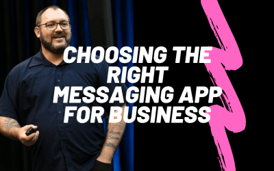 How to choose the right messaging app for your business