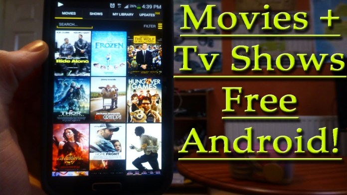 Mobile apps for TV shows