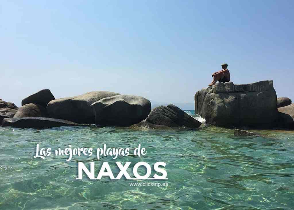 Guía de las mejores Playas Naxos Isla Griega Que visitar ver y hacer en Naxos Clicktrip
